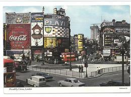 Inghilterra England London Piccadilly Circus Viaggiata 1974 Condizioni Come Da Scansione - Piccadilly Circus