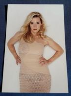 KATE WINSLET > Schauspielerin > Pin-Up Model Portrait > Hochglanz-Star-Photo Im Format Ca. 12,5 X 18,5 Cm (pf247) - Fotos