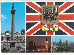 Inghilterra England London Greetings From London Viaggiata  Condizioni Come Da Scansione - London