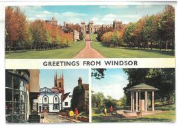 Inghilterra England Greetings From Windsor Non Viaggiata Condizioni Come Da Scansione - London