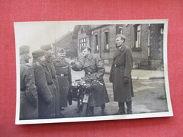 RPPC Soldiers With Motocycle    Ref 3381 - Militaria