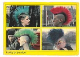 Inghilterra England Punks Of London Viaggiata 1989 Condizioni Come Da Scansione - Non Classificati