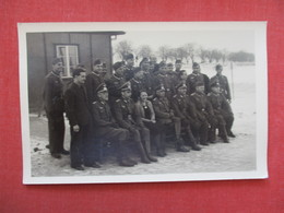 RPPC Soldiers  German WWII  Group With Female      Ref 3381 - Militaria