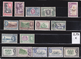 Belice  -  Lote  16  Sellos Diferentes     - 5/3009 - Belice (1973-...)