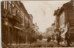 Galati - Strada Gl. Berthelot, Tramway - Romania