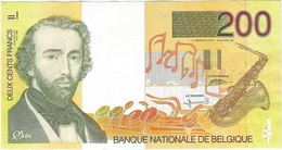 Bélgica - Belgium 200 Francs 1995 Pk 148 Firmas Bertholomé Y Verplaetse - [ 2] 1831-... : Reino De Bélgica