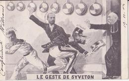 CP - LE GESTE DE SYVETON - Humour