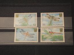 TUVALU - 1983 LIBELLULE 4 VALORI - NUOVI(++) - Tuvalu