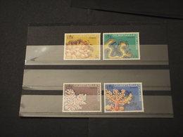 GILBERT - 1972 CORALLI 4 VALORI - NUOVI(++) - Kiribati (1979-...)