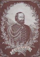 Garibaldi In Seide Gewoben - Keine Ansichtskarte Aber Ca. AK-Format          (A-75-170719) - Cartoline