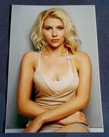 SCARLETT JOHANSSON > Schauspielerin > Sexy Pin-Up Girl/Model > Hochglanz-Star-Photo Im Format Ca. 12,5 X 19 Cm (pf272) - Photos