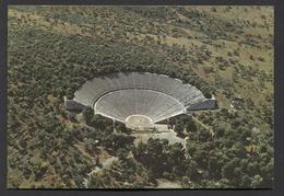 Epidaurus , Oudgriekse Stad - Schiereiland Argolis. -   Used - See The 2 Scans For Condition.(Originalscan ) - Greece