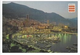 Francia France Montecarlo Monaco Notturno Non Viaggiata Condizioni Come Da Scansione - Monte-Carlo