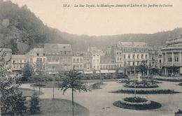 CPA - Belgique - Spa - La Rue Royale - Spa