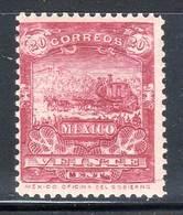 MEXIQUE - N°175 * (1898) Sans Filigrane - Mexico
