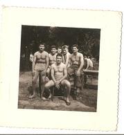 Bar Le Duc - Militaires - 6eme Section 1959 - Homme Nus - Torses Nus - Nu - Guerre, Militaire