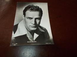 B726   Marlon Brando Non Viaggiata - Attori