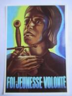CPM  Reproduction Affiche De Propagande Du Régime De Vichy  - Fête De Jeanne D'Arc - Parfait Etat - War 1939-45