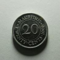 Mauritius 20 Cents 1996 - Mauricio