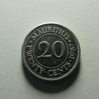 Mauritius 20 Cents 1987 - Mauricio