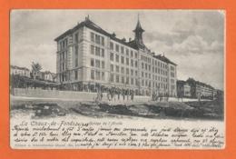 La Chaux-de-Fonds - Collége De L'Abeille, Animée 1903 - NE Neuchâtel