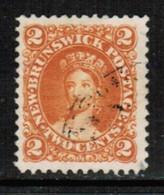 NEW BRUNSWICK  Scott # 7 VF USED (Stamp Scan # 509) - New Brunswick
