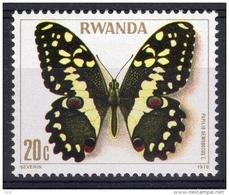 Papilio Demodocus (Papillon) - Rwanda - 1978 - Rwanda