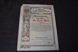 Obligation 1000 Mark à 3 % De 1894 Allemagne Germany Deutschen - Other