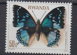Charaxes Smaragdalis (Papillon) - Rwanda - 1978 - Rwanda