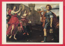 242814 / Italy Italian Art Matteo Rosselli - THE TRIUMPH OF DAVID , Beheaded MUSIC DANCE , Hermitage Leningrad 1983 - Paintings