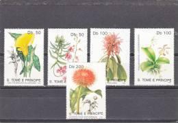 Santo Tome Y Principe Nº 1052 Al 1056 - Sao Tomé Y Príncipe