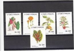 Santo Tome Y Principe Nº 1167 Al 1171 - Sao Tomé Y Príncipe