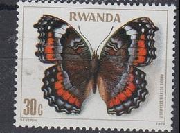 Precis Octavia Sesamus (Papillon) - Rwanda - 1978 - Rwanda