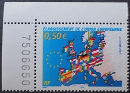 Lot 1992 - 2004 - ELARGISSEMENT DE L'UE - N°3666 NEUF** Coin De Feuille - Ungebraucht
