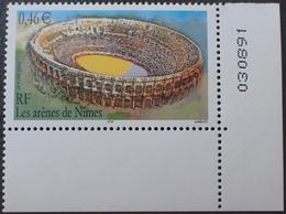 Lot 1995 - 2002 - ARENE De NÎMES - N°3470 NEUF** Coin De Feuille - Ungebraucht