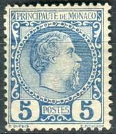 MONACO  Y&T  N° 3 *...beau Centrage...signé - Neufs