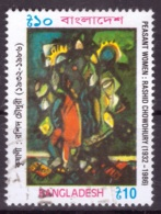 Bangladesh 2001 - Obliterè - Peinture - Michel Nr. 764 Série Complète (ban022) - Bangladesh