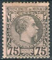 MONACO  Y&T  N° 8 *...infime Rousseur Au Dos - Monaco