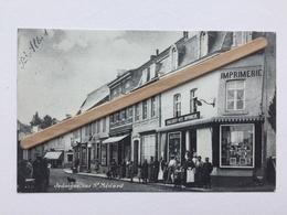 JODOIGNE»RUE St MÉDARD»Panorama,animée ,commerces,imprimerie Englebert(Réédition  Du Syndicat D'Initiative De Jodoigne - Jodoigne