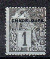 GUADELOUPE - YT N° 14aA Gnadeloupe - Neuf * - Cote: 12,00 € - Guadalupe (1884-1947)
