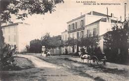 CPA Le Lavandou - Hôtel De La Méditerranée - Le Lavandou