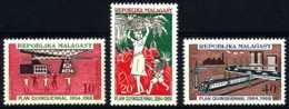 [602294]TB//**/Mnh-Madagascar 1968, Plan Quinquenal, Agriculture, Industrie, Train, SC, **/mnh - Madagascar (1960-...)