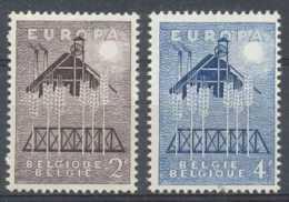 [602407]TB//**/Mnh-Belgique 1957, EUROPA-CEPT, SC, **/mnh - 1957