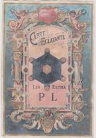 Image Genre Chromo Anvers Belgique 1894 Hors Concours   Carte Eclatante  Lin Extra  Pl - Chromos