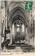 22 CALLAC - L'intérieur De L'église - Callac