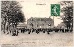 22 MUR-de-BRETAGNE - Mairie, école - France