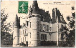 56 AUGAN - Chateau Du Bois-du-Loup, Vu De Profil - Frankrijk