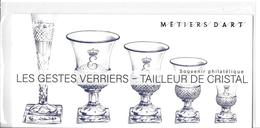 Année 2019 _ Bloc Souvenir Métiers D' Art Les Verriers. Sous Blister _ - Foglietti Commemorativi