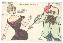 ORENS - Affaire Syveton - Le Dr Barnay - Mme Syveton   . (577 ASO) - Orens