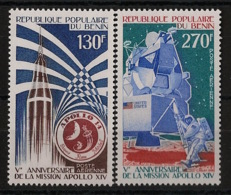 Bénin - 1976 - Poste Aérienne PA N°Yv. 258 à 259 - Apollo - Neuf Luxe ** / MNH / Postfrisch - Benin - Dahomey (1960-...)